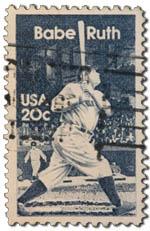 Babe Ruth - sweet spot of the bat.