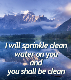 you shall be clean