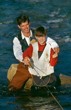 Spiritual direction is like a fishing guide