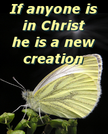 he is a new creation